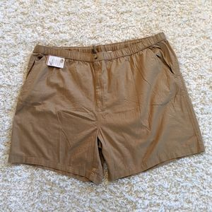 KING SIZE KNOCKAROUNDS MNs 'NWT' BRN Shorts SZ 4XL